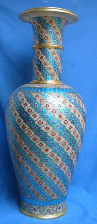 Flower Vase Painted Flower Vase Exporter Supplier