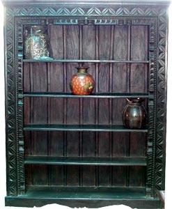 Wood Bookshelves Exporter Carved Wooden Bookshelves